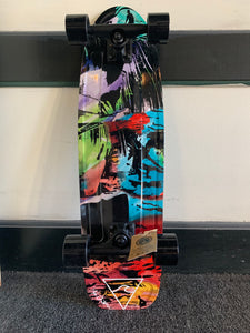 Complete Cruiser Skateboard - Surfy Art Project