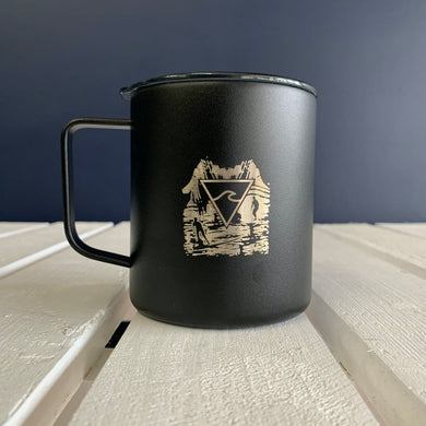Copper Vacuum Insulated Mug - Surfy Art Project