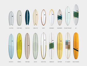 Custom Almond Surfboards