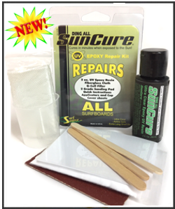 Sun Cure Epoxy Repair Kits - Ding All