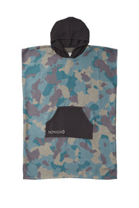 Camo Green Changing Poncho- Nomadix