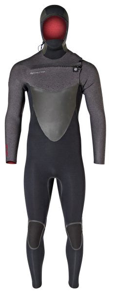 Men's Cryo Hooded 5/4mm Front Zip Wetsuit - Hyperflex