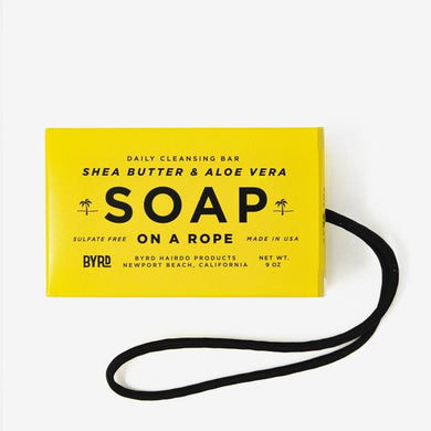 Hydrating Soap On A Rope - BYRD Hairdo Products