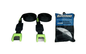 Tie Down Board Straps - Blocksurf
