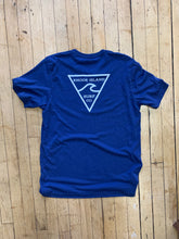 Load image into Gallery viewer, RISC Premium Tee in Heather Blue - Rhode Island Surf Co.