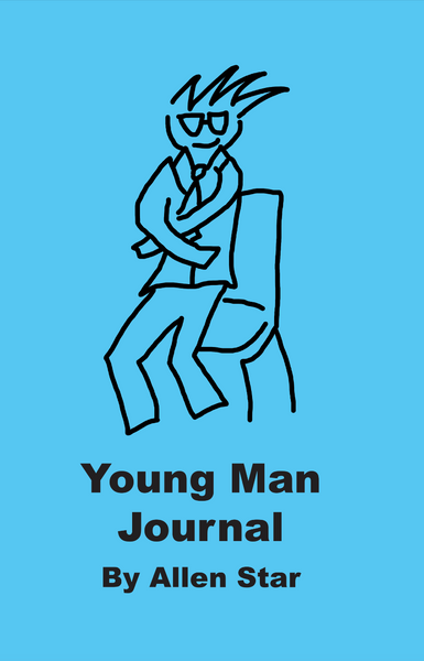 Young Man Journal - luckyclarkbooks