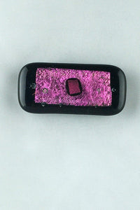 Rectangle Multi-Color Dichroic Glass Magnet