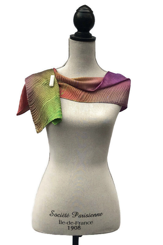 Lovely Jacquard Silk Scarf