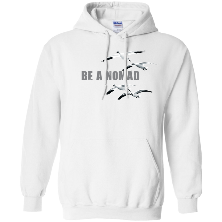 Be A Nomad Snow Goose Hoodie