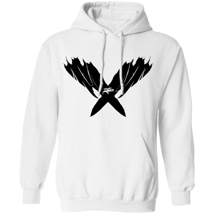 Spread Blender Feather Detail Hoodie