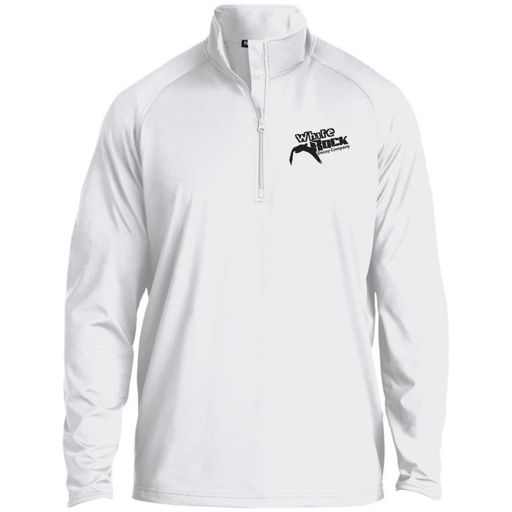 White Performance Pullover