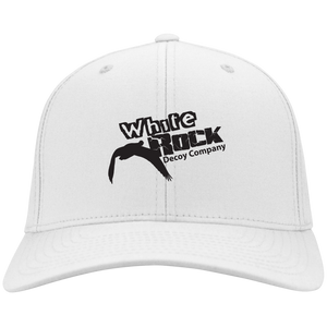 White Flex Fit Hat