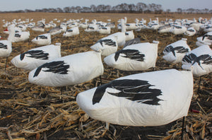 Headless Snow Goose Windsocks