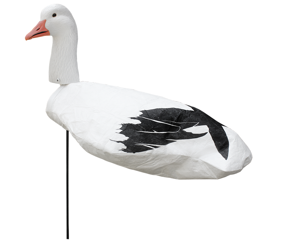Upright Snow Goose Windsocks