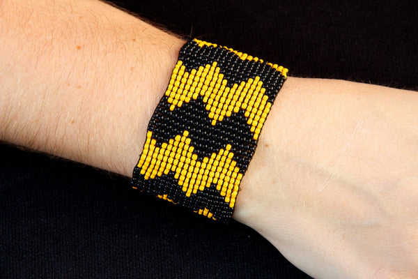 Black/Yellow Chevron