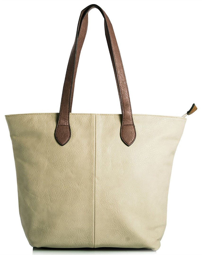Ladies Tote Bag - Light Beige