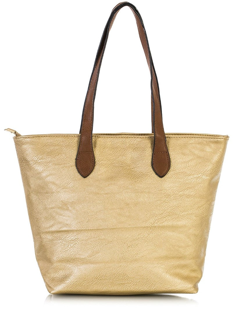 Ladies Tote Bag - Gold