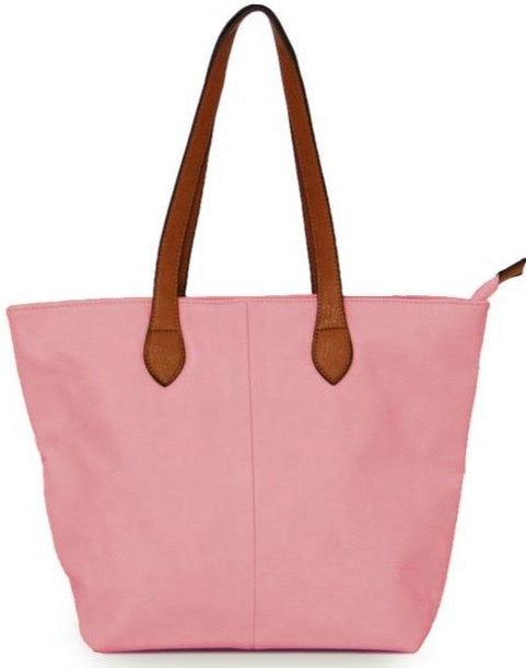 Ladies Tote Bag - Pink