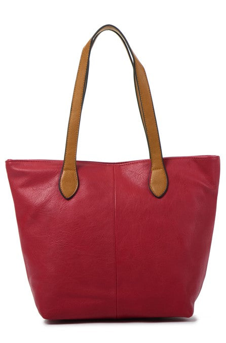 Ladies Tote Bag - Red