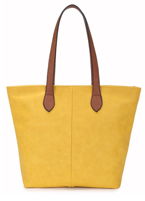 Ladies Tote Bag - Yellow