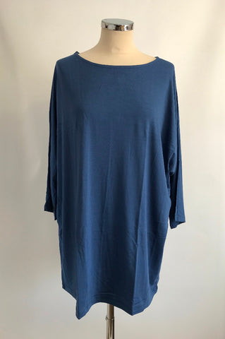 Batwing T-Shirt - Blue