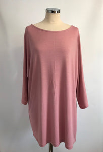 Batwing T-Shirt - Light Pink