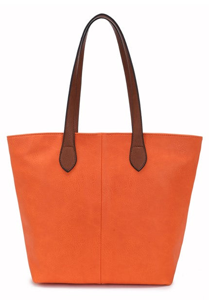Ladies Tote Bag - Orange