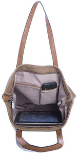 Ladies Tote Bag - Silver Grey
