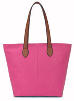 Ladies Tote Bag - Hot Pink