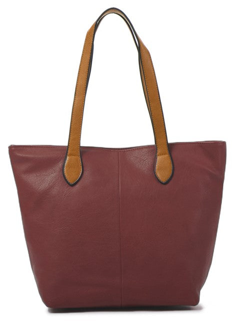 Ladies Tote Bag - Wine