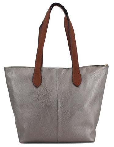 Ladies Tote Bag - Pewter