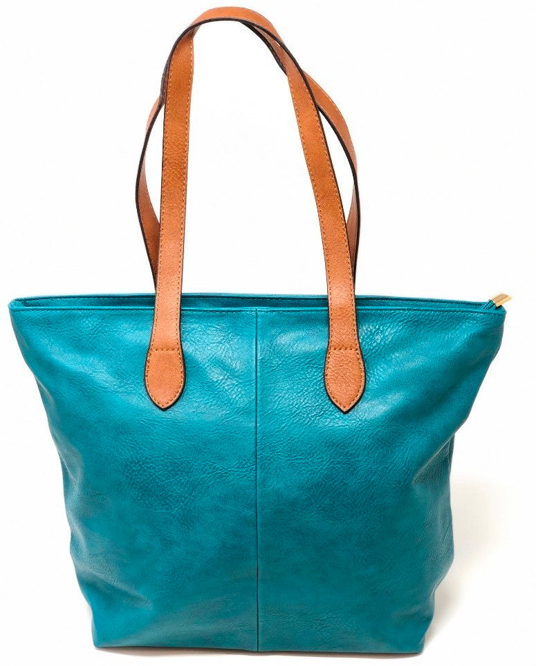 Ladies Tote Bag - Teal