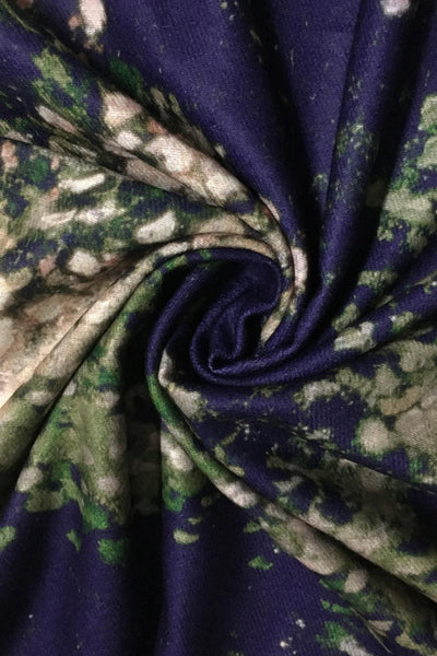 Monet Woman in the Garden Wool Blend Scarf
