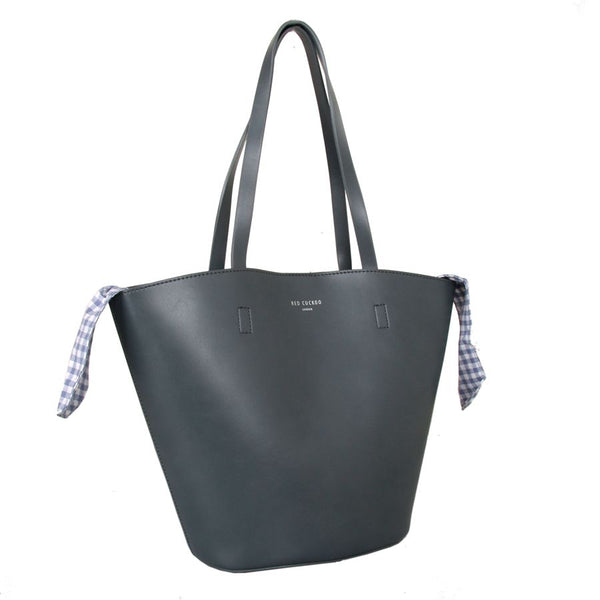 Grey Shoulder Bag by Red Cuckoo
