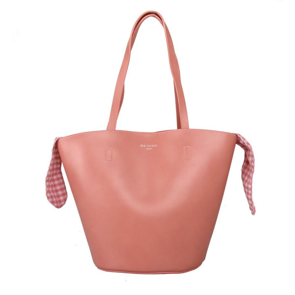 Pink Shoulder Bag by Red Cuckoo
