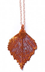 Birch Pendant - Copper