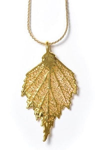 Birch Pendant - Gold