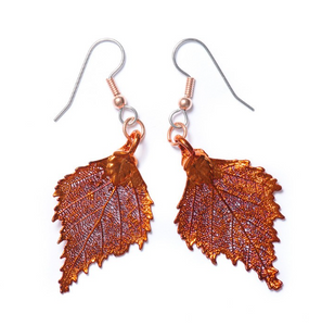 Birch Earrings - Copper