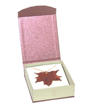Maple Pendant - Copper