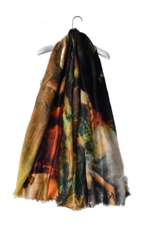 Degas Dancer Print Scarf
