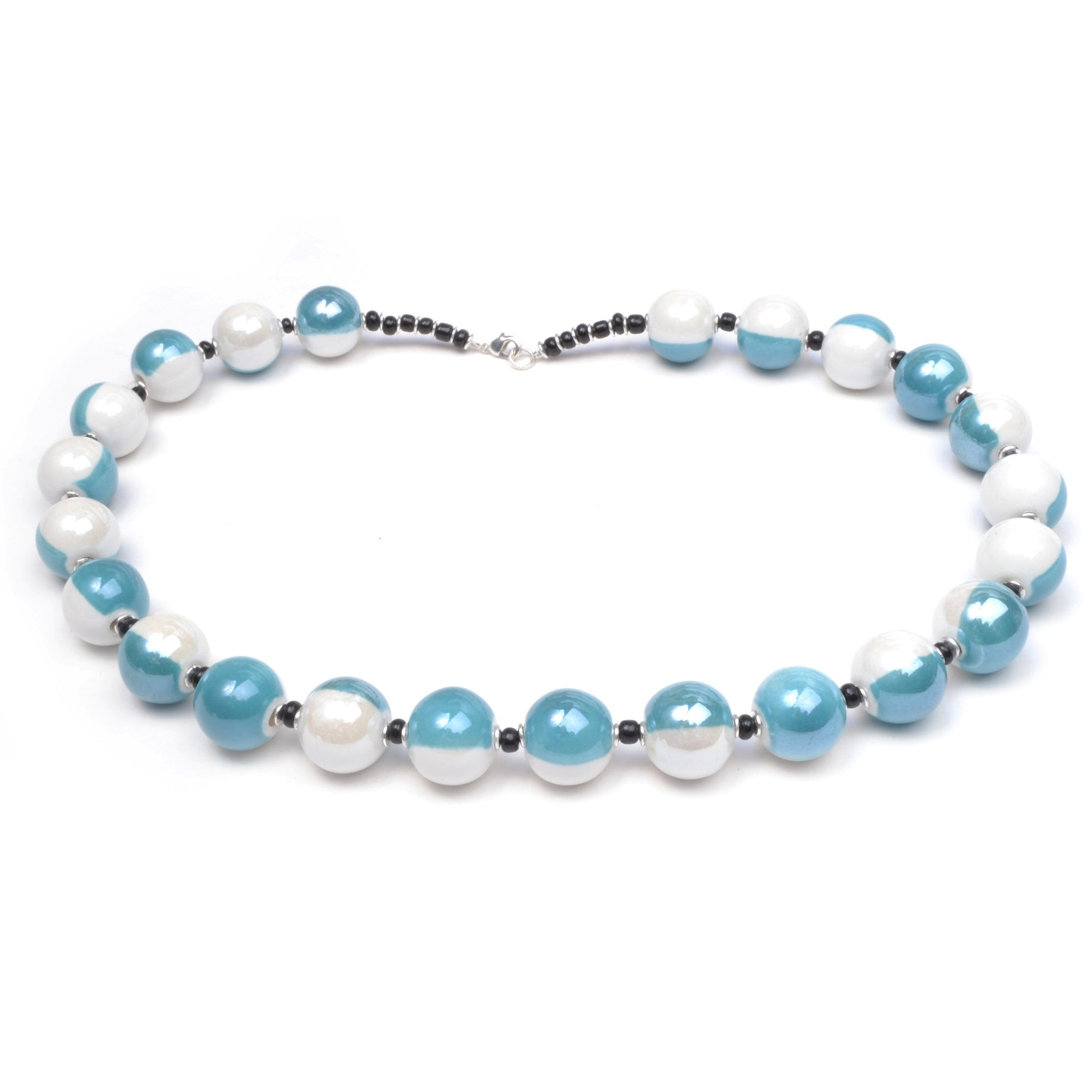 Zukari Kallea Necklace -  Ice Blue