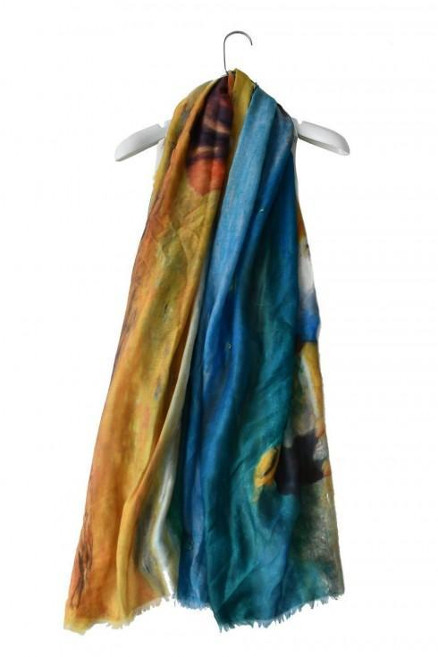 Renoir By The Sea Print Scarf