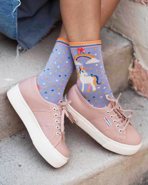 Unicorn Ankle Socks by Powder
