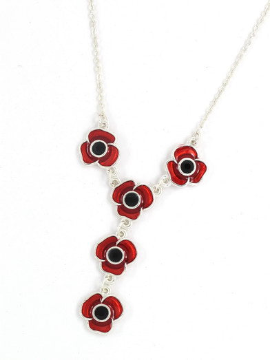 Poppy Necklace - 18""