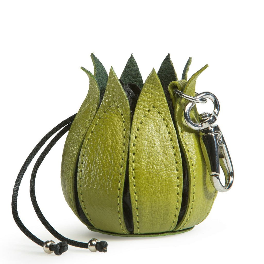 By-Lin Tulip Key ring - Lime and Black