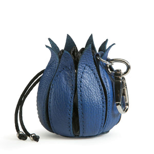 By-Lin Tulip Key ring - Cobalt and Black