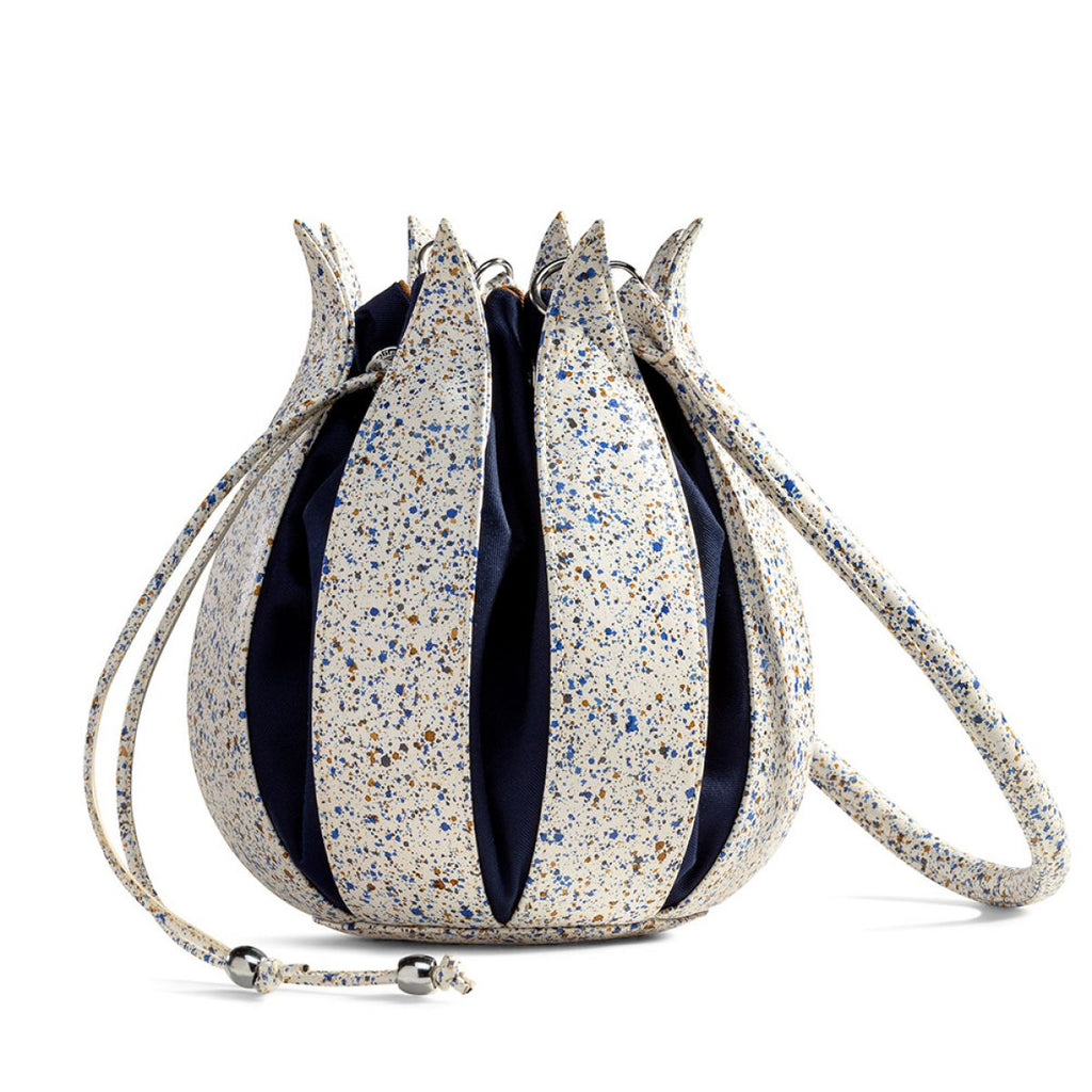 By-LIn Tulip Leather Bag - Splash