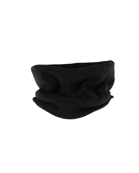 Cashmere Blend Two Way Snood - Anthracite