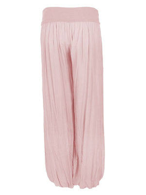 Palazzo Trousers - Pink