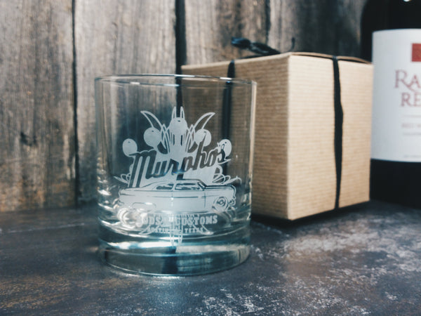 Custom Etched Personalized Pint Glass Glassware- Monster Dance Designs